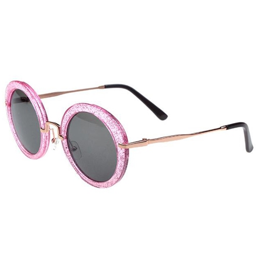 Stylish Colorful Roundness Lens Women's Sunglasses