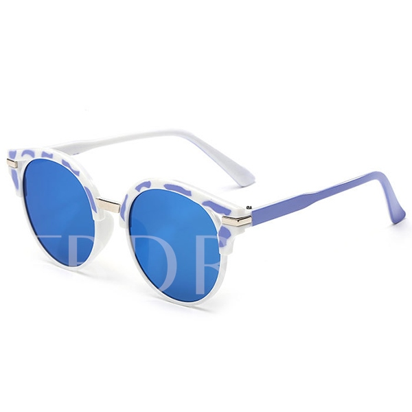 Circular Frame HD Lens Polarized Sunglasses
