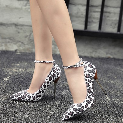 Leopard Cheap Stiletto Heel Women's Formal Heels