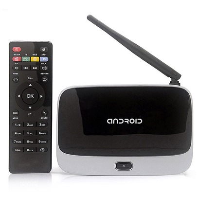 CS918 Wireless TV-BOX Android Quad-core High-definition Network