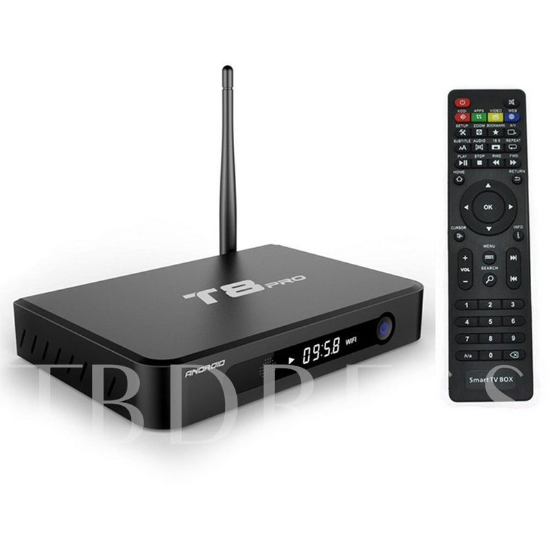 T8 Pro Android TV Box Amlogic S812 Quad-Core 2.4G WiFi Smart TV Box
