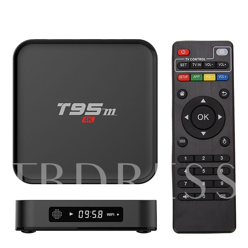 T95M Android 6.0 4K TV Box Home Theater Google TV Player 2G/8G