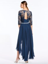 Sweetheart Ruched Bridesmaid Dress With Lace Jacket