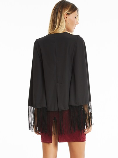 Stylish Fringe Women's Cape