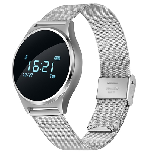 M7 Metal Band Smart Watch Support Blood Pressure Call Reminder Sport Monitoring