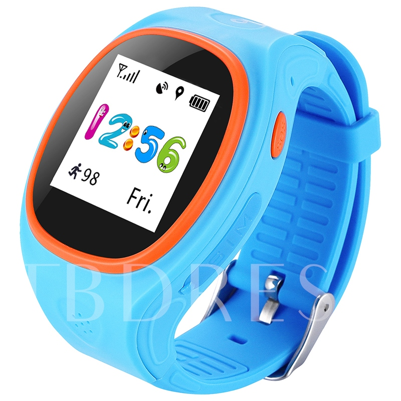 S866A Kids Smart Watch Water Resistant Support GPS/SOS/Micro SIM Card