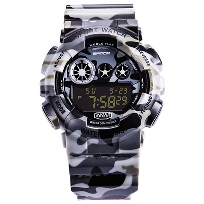 Multifunctional Chronograph Acrylic Men's Watches