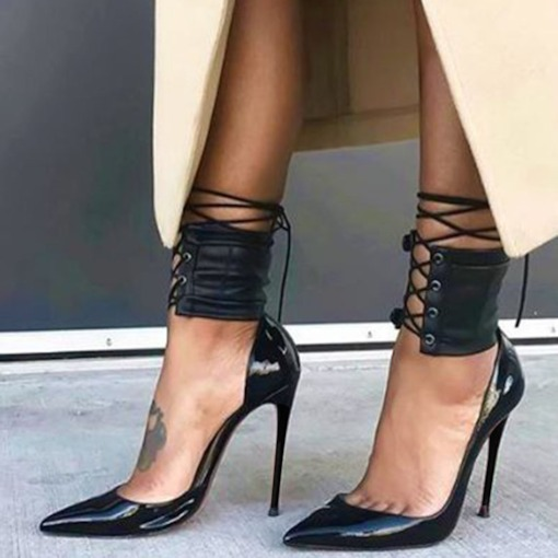 Ultra-High Pointed Thin Heel Women's Pumps