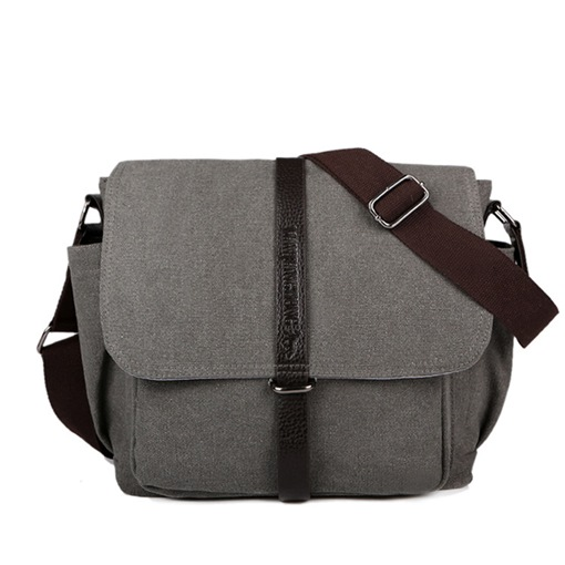 Outdoor Multifunctional Canvas Men's Cross Body Bag