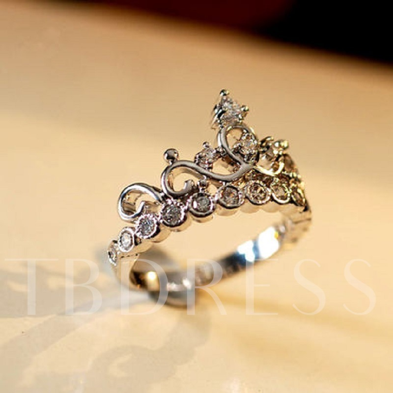 Retro Crown Ring