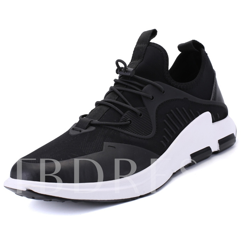 Trendy Men's Athletic Shoes Breathable Preppy's Sneakers