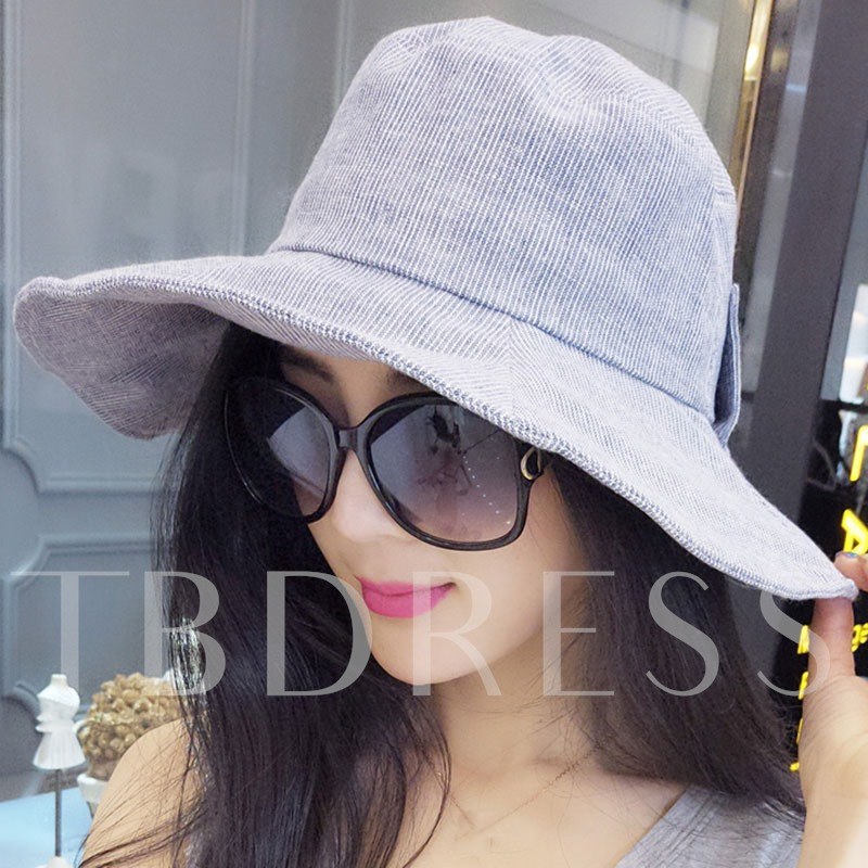 Outdoor Casual Wide Brim Cotton Foldable Hat