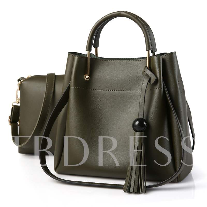 European Tassel Pendant Women's Bag Sets