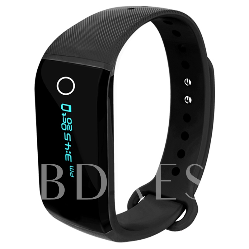 iSport Smart Bracelet Calories Heart Rate Monitor Fitness Tracker for iPhone Android Samsung