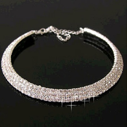 Fashion Gorgeous Diamond-Shaped Necklace