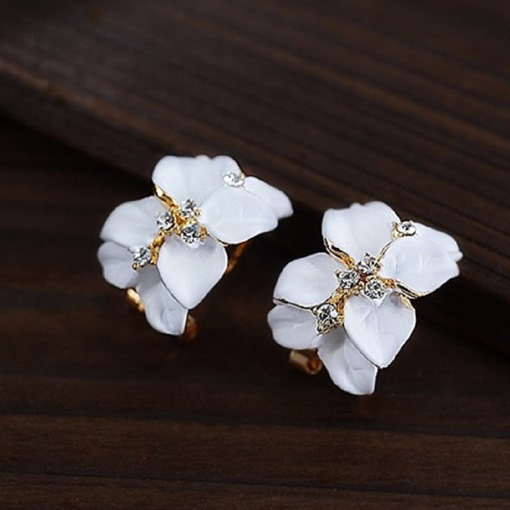 Gardenia Cute Korean Fashion Earrings
