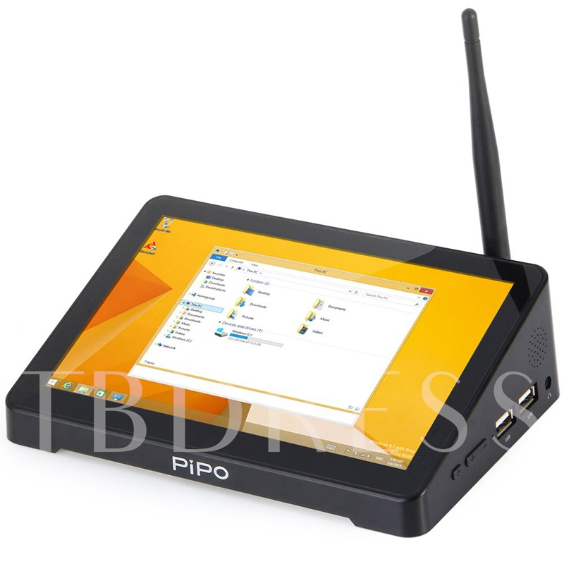 X8 Mini TV Box WiFi 2G+32G with Screen & Android Windows System