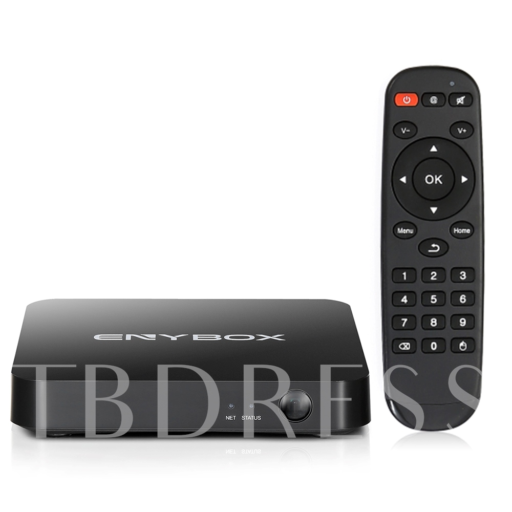 ENYBOX X3 WiFi 4K Android TV Box Quad Core Amlogic S905X 2G/16G KD player