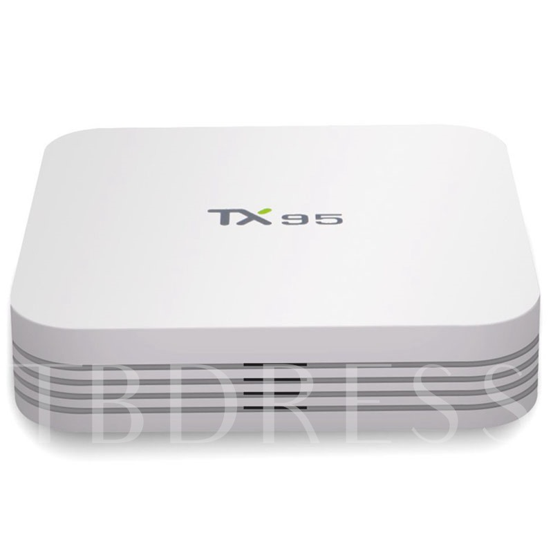TX95 MINI 4K Kodi Android TV Box Quad-core 2G+16G Support WiFi with Remote Control
