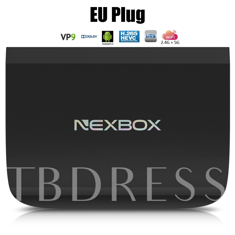 A1 Android TV Box Octa-core 2G+16G Dual Band Wifi+Bluetooth