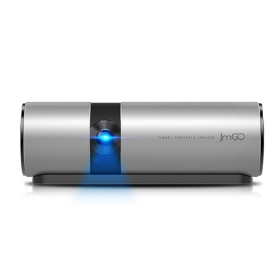 JMGO P2 Portable LED Projector 1080P Home Cinema with WIFI, Bluetooth Speaker