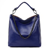 Plain Color Half Moon Silt Pocket PU Shoulder Bag