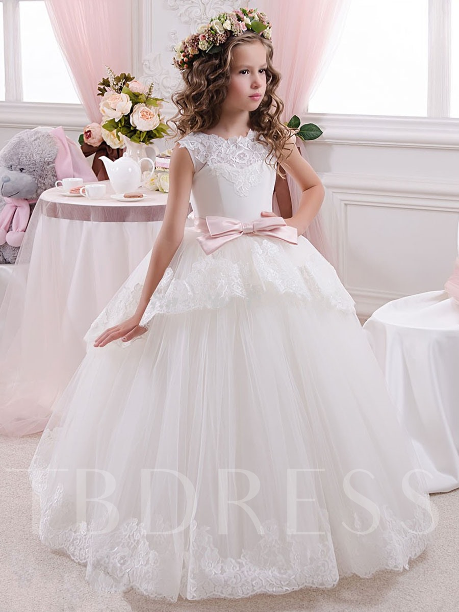 Tulle Lace Tutu Ball Gown Long