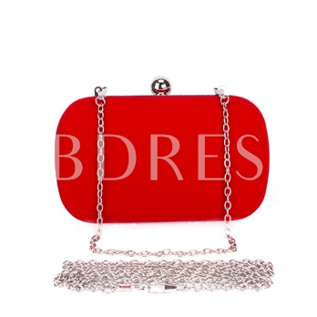 Simple Suede with Chain Women Clutches