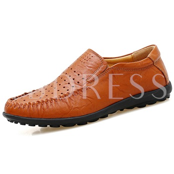 Thread Flat With Men's Loafers Boat Shoes