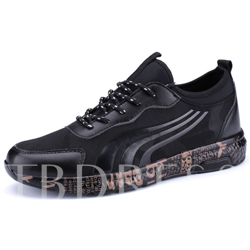 Buy Cotton Lining Breathable Round Toe Patchwork Men's Sneaker, Spring,Summer,Fall, 12789085 for $37.21 in TBDress store