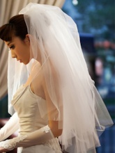 Ivory Tulle Wedding Veil