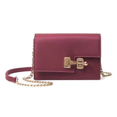 Leisure Preppy Style Ling Chain Cross Body Bag
