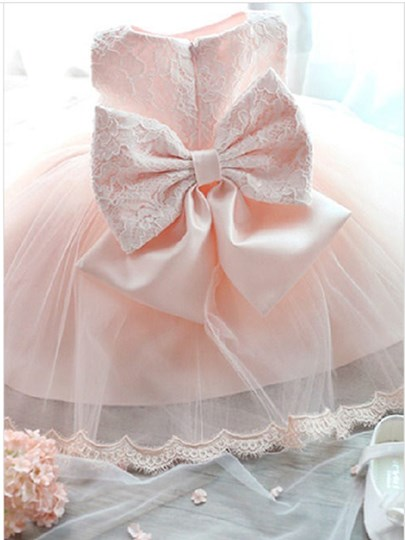 Cute Mini Tulle Flower Girl Dress