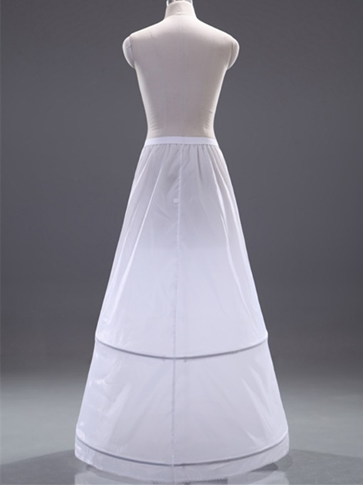 A-Line Sweep Train Wedding Petticoat