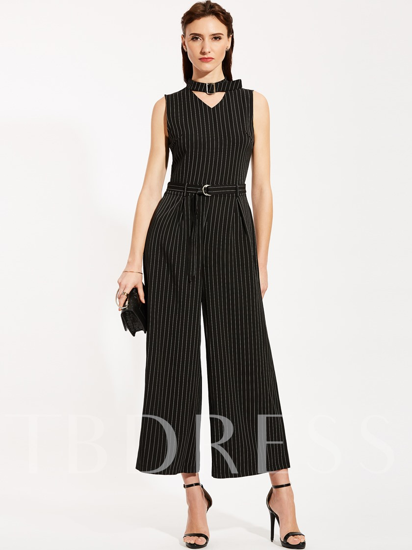 218de9da692d Slim Stripe Wide Legs Women s Jumpsuit - Tbdress.com