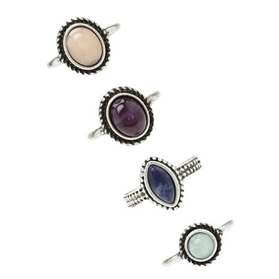 Vintage Style All-Matched Alloy Ring Set