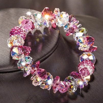 Shining Austria Crystal-Shaped Bracelet for Women