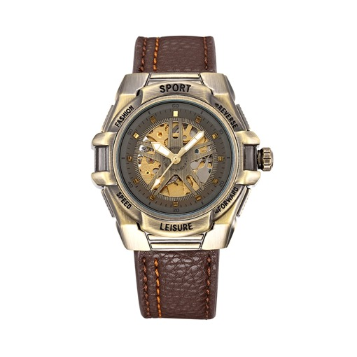 Bronze Dial Design Men's Mechanical Watch