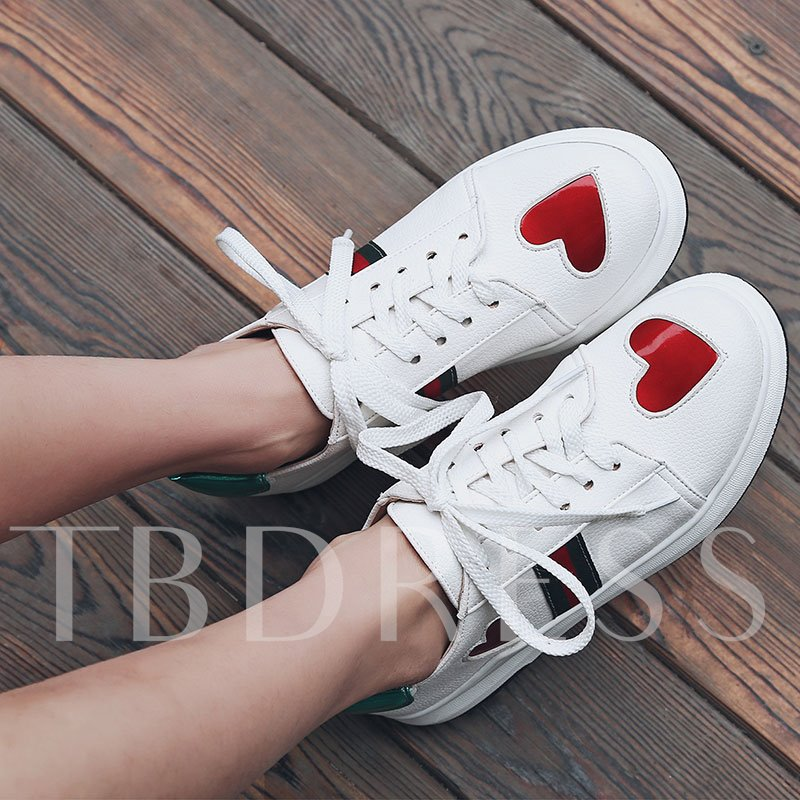 Stripe Trendy Women's Skate Shoes