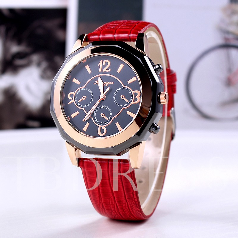 Quartz Movement Analog Display Women's Fashion Watch