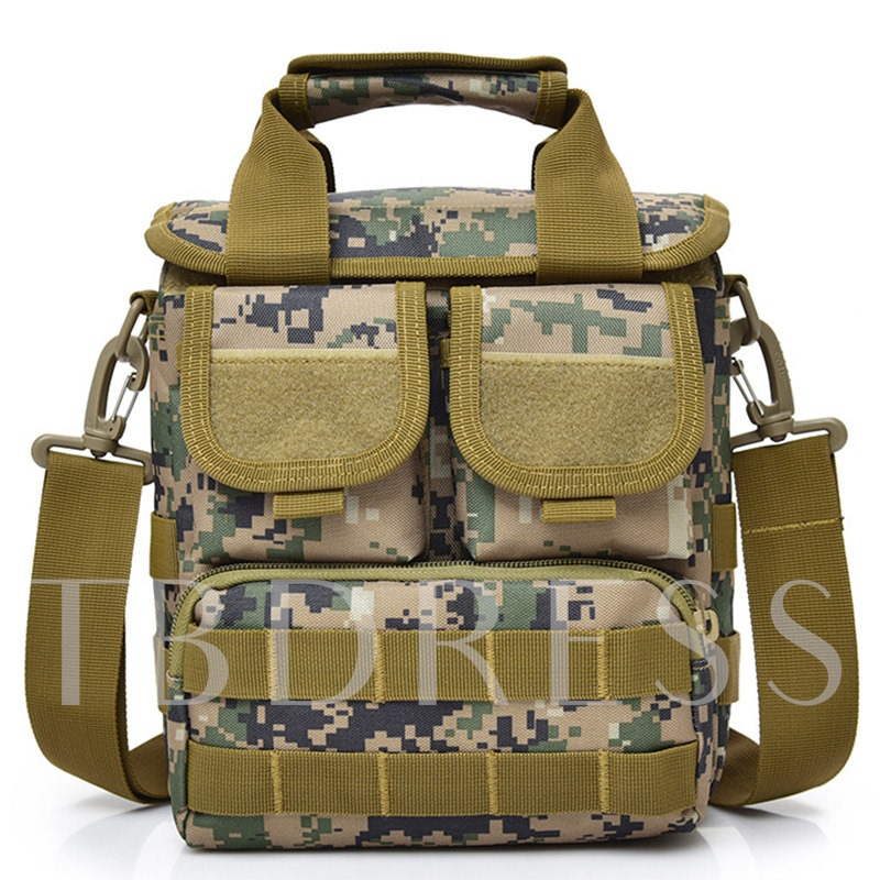 Leisure Outdoor Camouflage Nylon Men's Bag