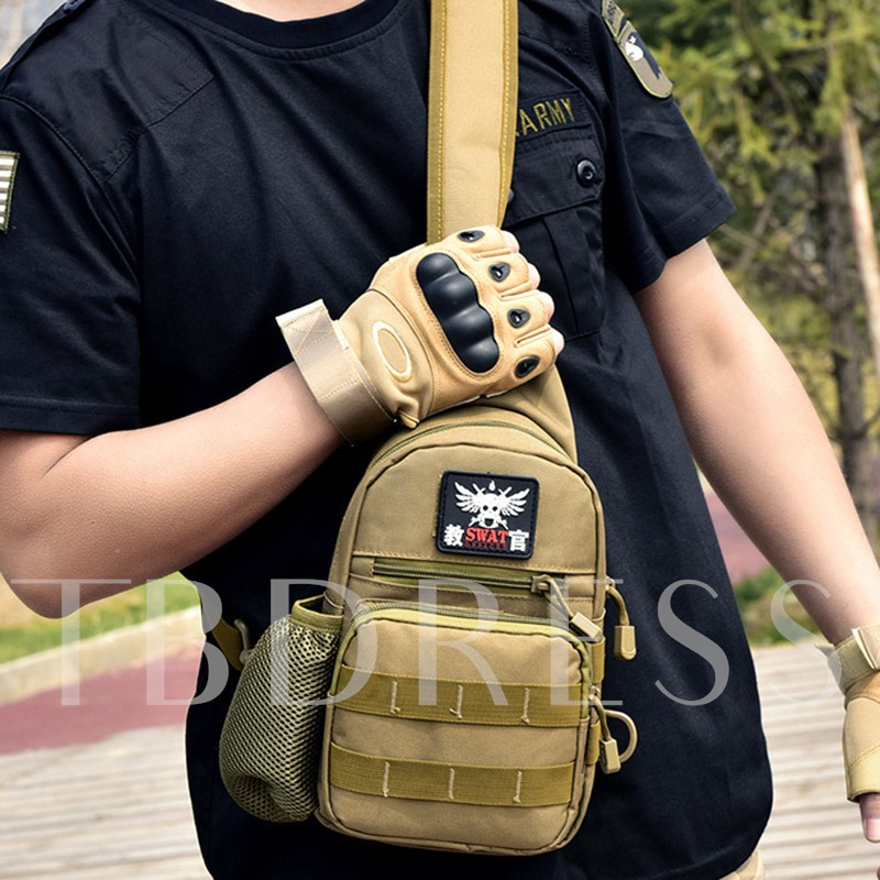 Camouflage Series Outdoor with kettle Pocket Men's Bag