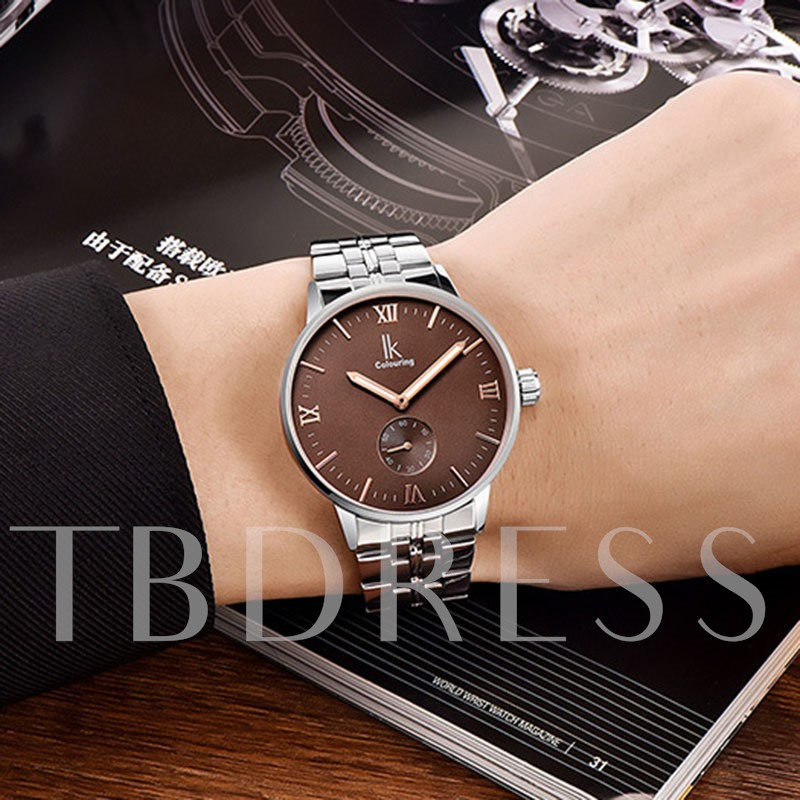 Business Luminous Pointer Design Men's Mechanical Watch
