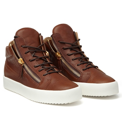 Platform Skater Shoes Men's High Top