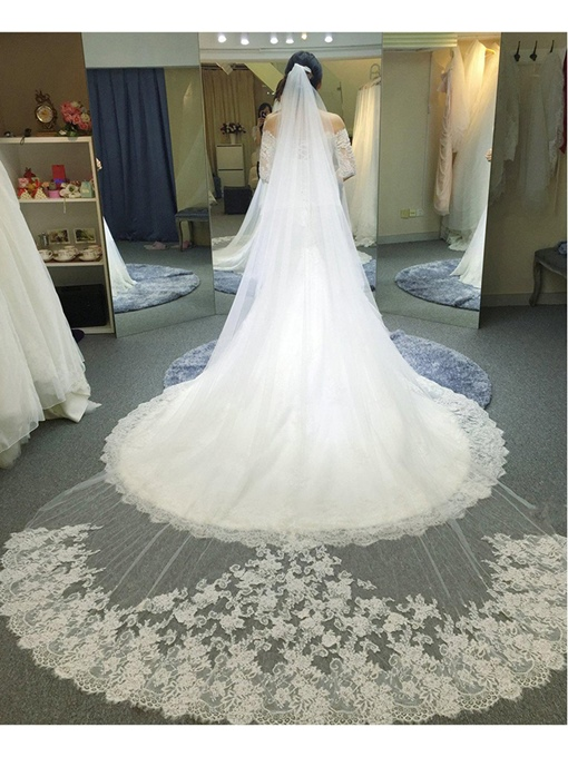 1T Cathedral Length Wedding Veil