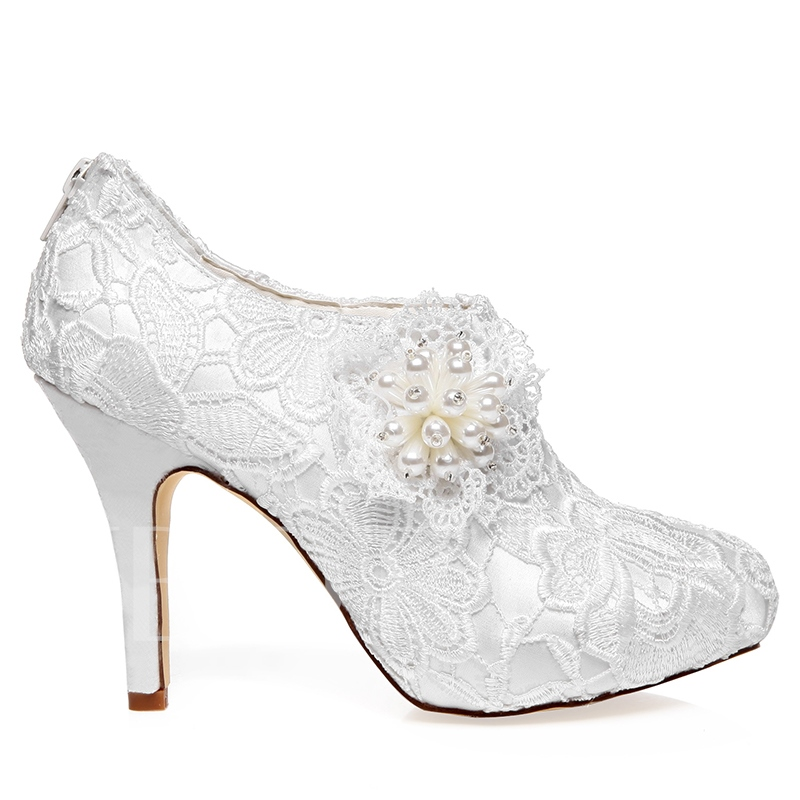 Lace Beads Bridal's Evening Party Heels