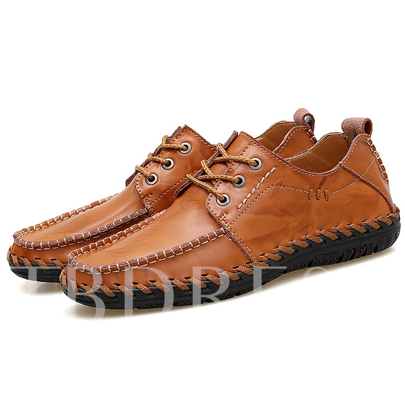 Threads Outsole Casual Men's Boat Shoes