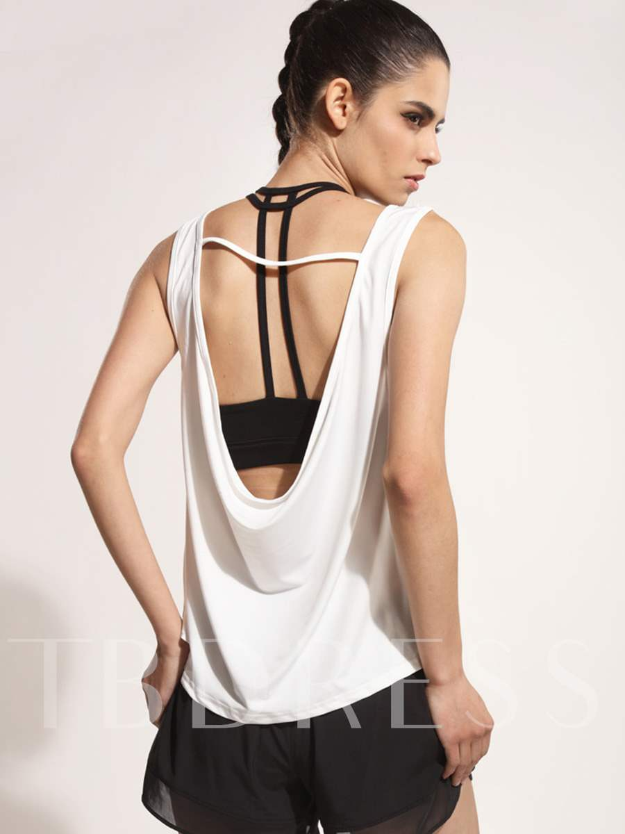 Soft Backless Women Yoga Top