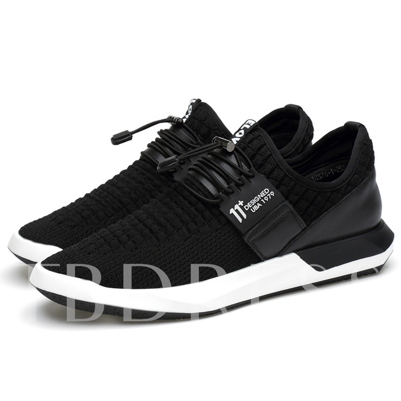Breathable Mesh Floating Platform Men's Running Shoes