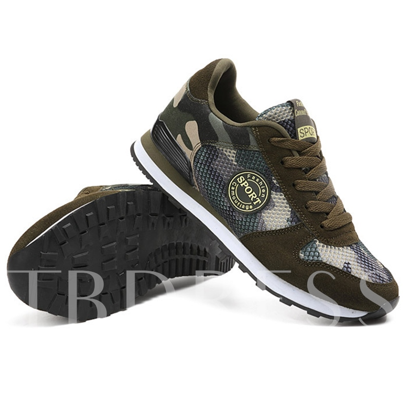 Camouflage Running Shoes Men's Sports Shoes